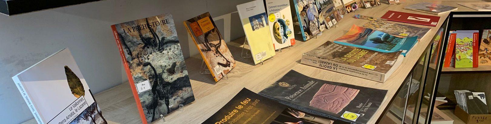 La boutique du Musée d'Archéologie de Nice / Cimiez