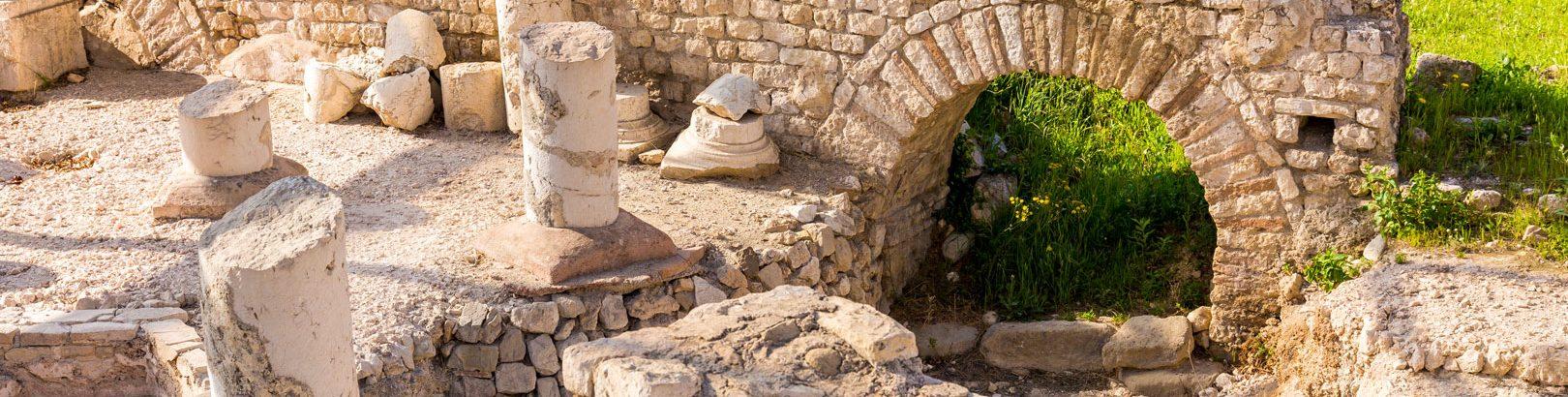 Photo des vestiges du Musée d'archeologie nice cimiez